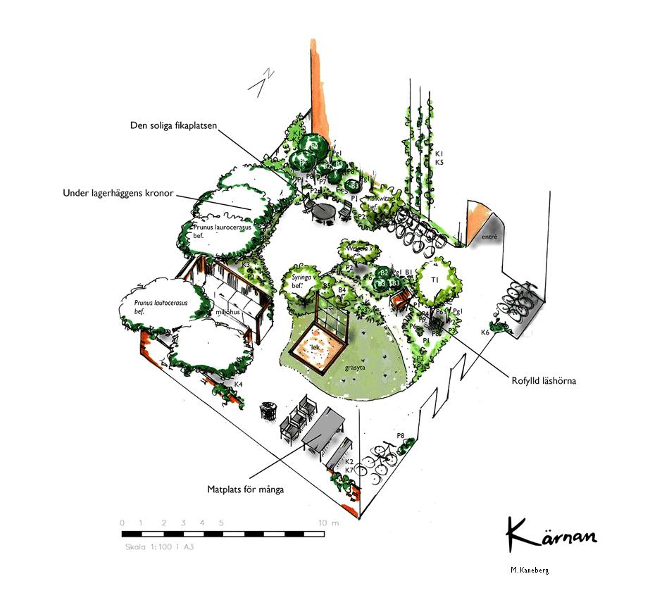 Trädgårdsdesign Malmö 5
